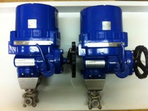 ATEX on stainless ball valve