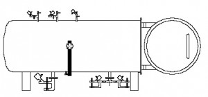 Autoclave diagram food sterilisation